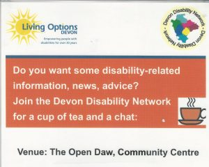Devon Disability Network @ Open DAW