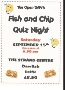 Fish and Chip and Quiz Night @ Strand Centre